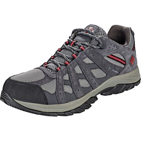 Columbia Canyon Point WP Zapatillas Hombre, charcoal/red element